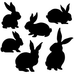 240x240 Search Photos Rabbit Silhouette