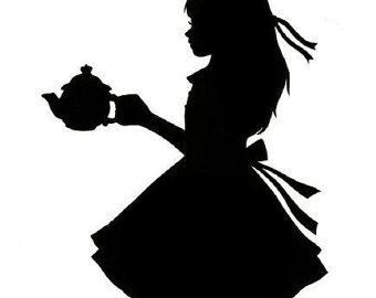 340x270 Disney Alice In Wonderland Silhouette Mad Hatter