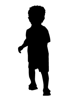 279x370 Toddler Walking.jpg All About Me Silhouette