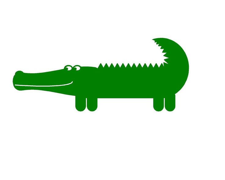 Alligator Silhouette