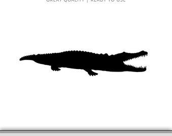 340x270 Alligator Cut File Etsy