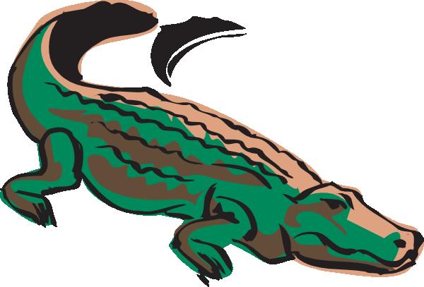 600x407 Crocodile Silhouette Clip Art Clipart Panda