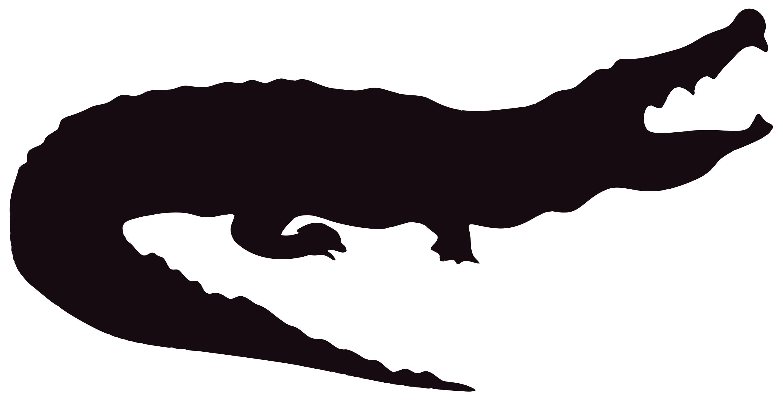alligator silhouette clip art at getdrawings com free for personal rh getdrawings com free animated alligator clipart free alligator clipart black and white