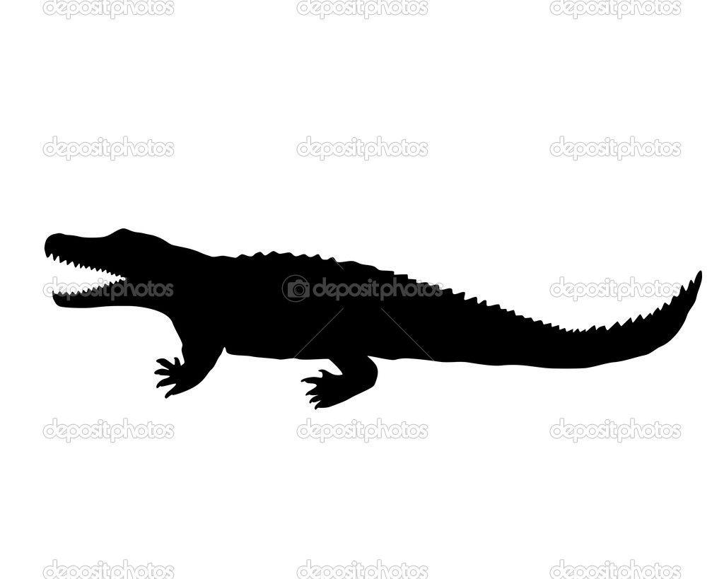 1024x819 Reptile Silhouettes