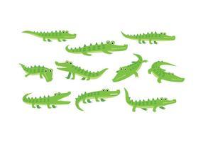 286x200 Crocodile Free Vector Art