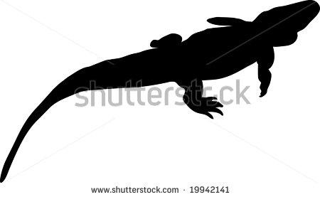 450x277 Crocodile Silhouette Clipart Panda
