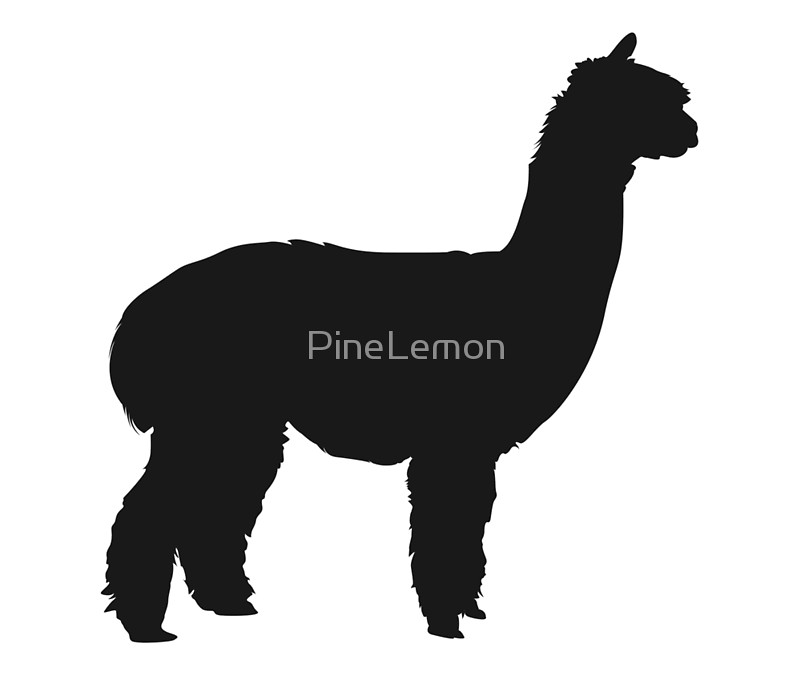 alpaca silhouette clip art at getdrawings com free for personal rh getdrawings com alpaca cartoon clipart alpaca background clipart