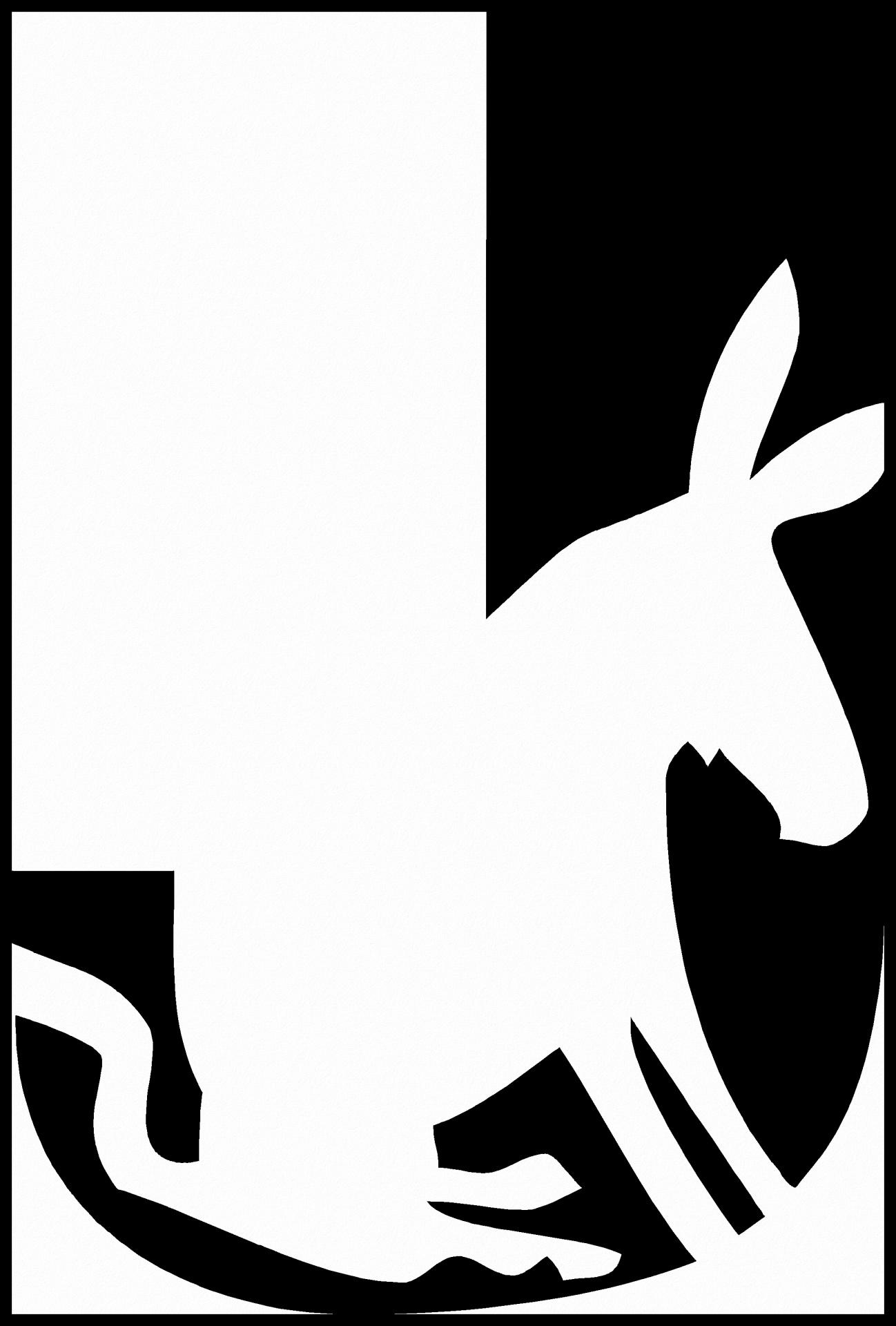 1298x1920 Alphabet Silhouette Letter J Free Stock Photo