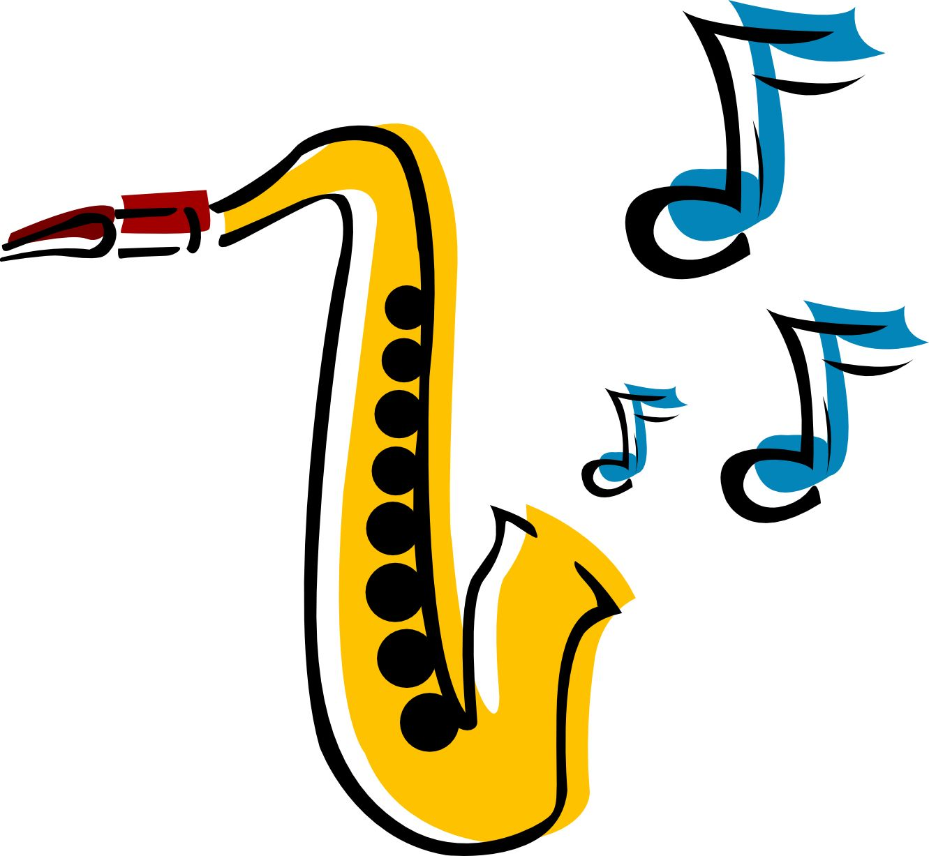 Alto Saxophone Silhouette at GetDrawings.com | Free for personal use ...