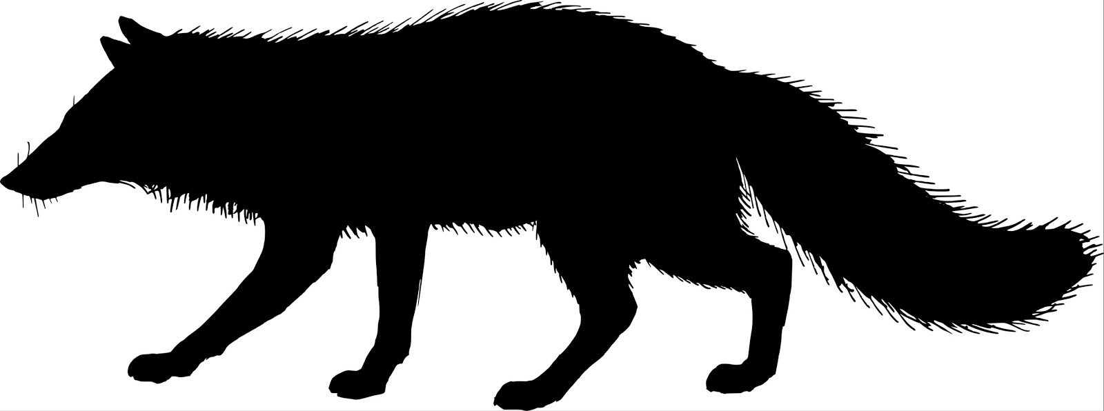 1600x596 Amazing Fox Silhouette Clip Art Running Clipart Panda Free Images