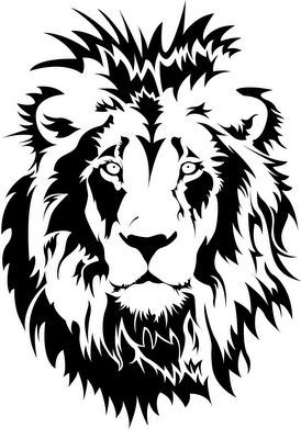 274x400 Amazing Lion Stencil! Great Cameo Art Png Silhouette Cameo 2