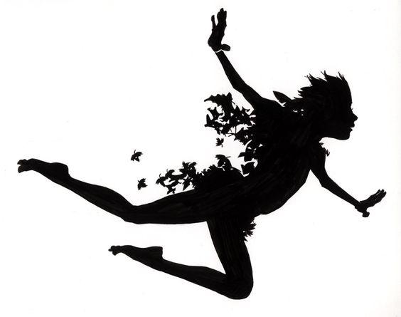 564x445 Scott M.fischer's Amazing Silhouette Illustration For Peter Pan
