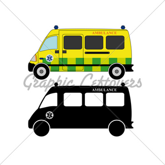 325x325 Ambulance Silhouette Gl Stock Images