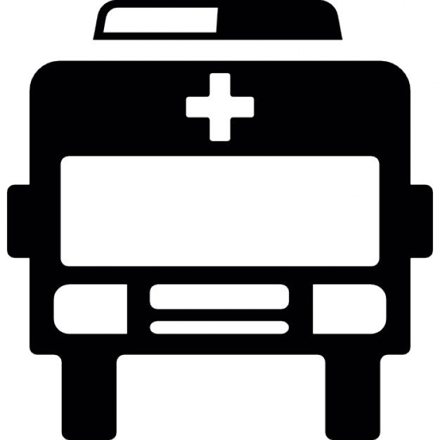 626x626 Ambulance View Front Icons Free Download