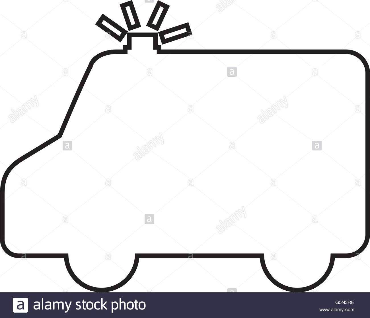 1300x1116 Ambulance Silhouette Isolated Icon Design Stock Vector Art