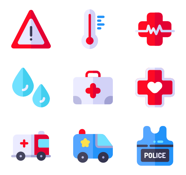 600x564 Ambulance Icons