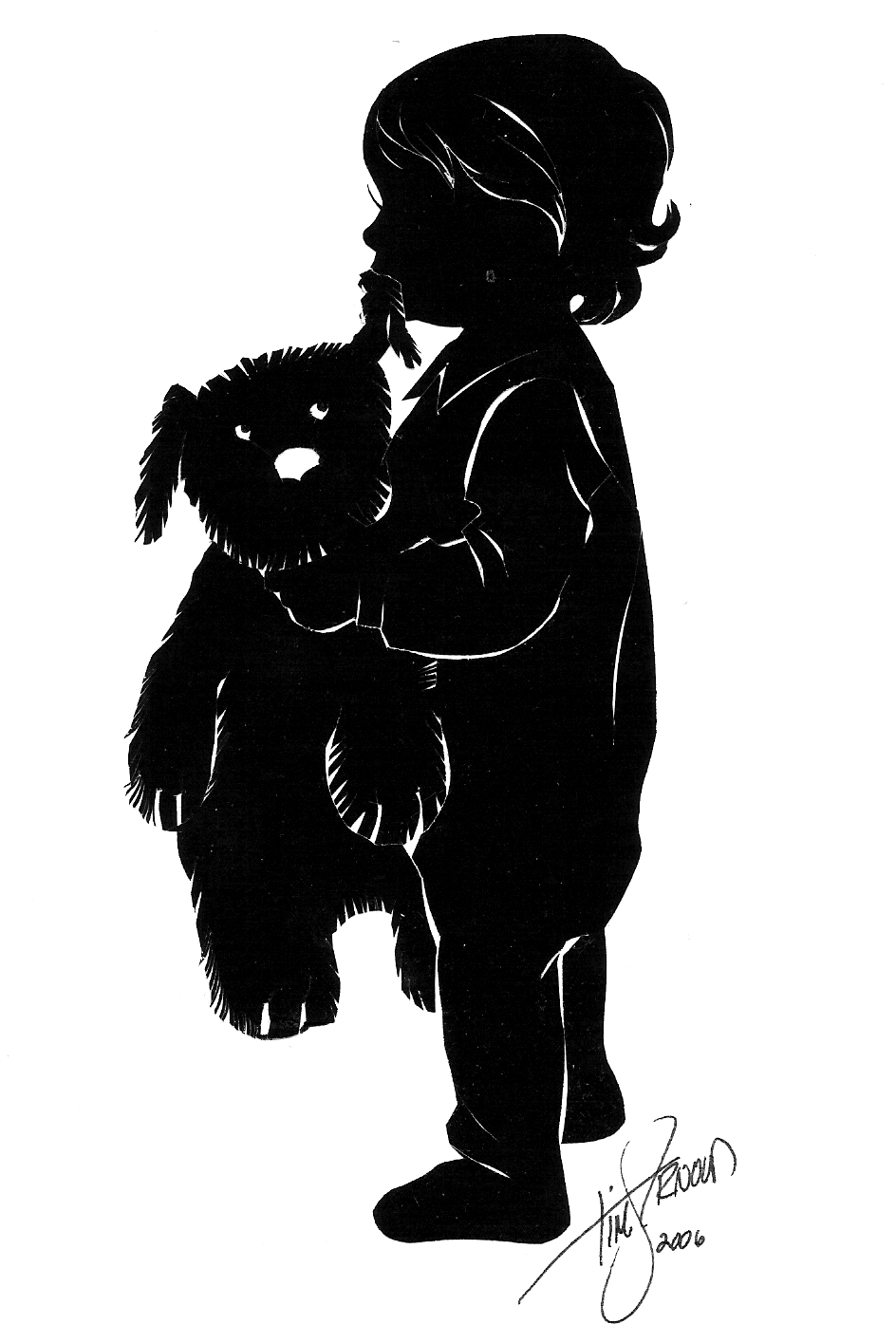 944x1395 Silhouette Artist Tim Arnold