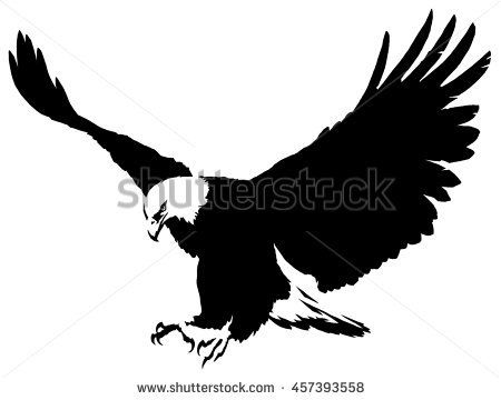 450x360 Eagle Silhouettes Stock Images, Royalty Free Images Amp Vectors