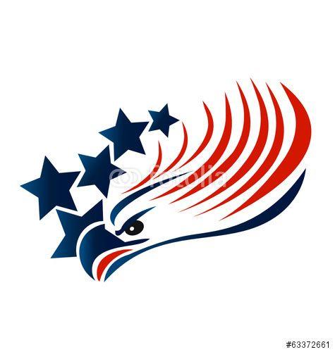 475x500 Vector Bald Eagle American Flag Logo Vector Usa Flags,emblems