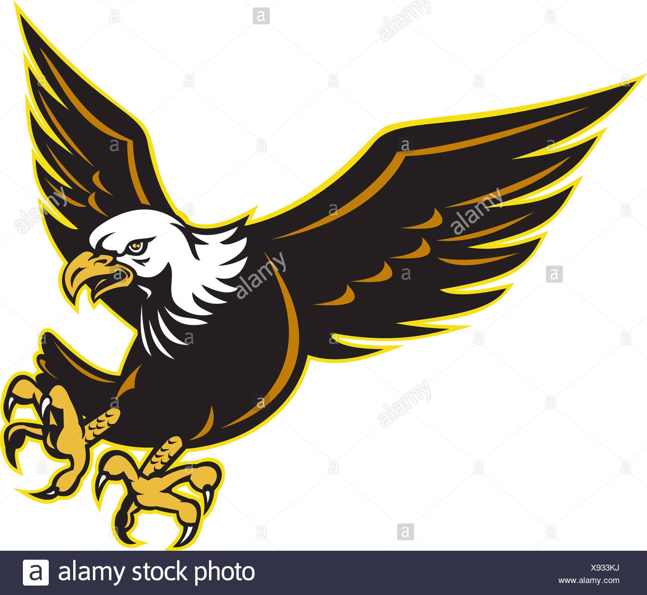 1300x1196 American Bald Eagle Cut Out Stock Images Amp Pictures