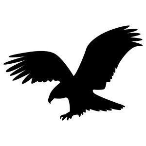 300x300 Bald Eagle Bald Eagle, Silhouette Design And Silhouettes