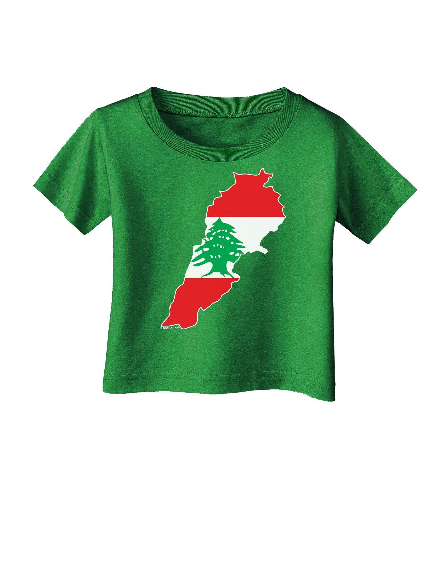 1550x1978 Lebanon Flag Silhouette Infant T Shirt Dark Lebanon Flag, Flags