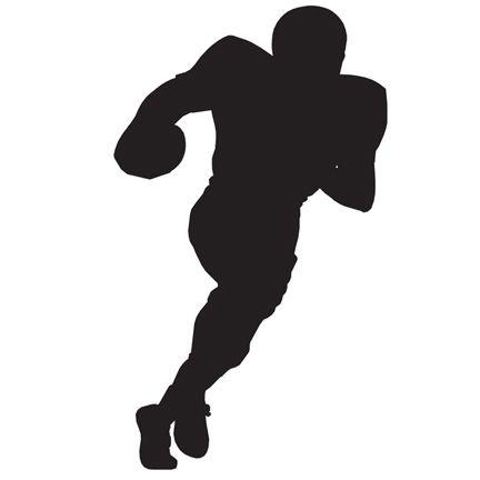 432x432 American Football Player Silhouette Png Car Wallpaper Hd Free
