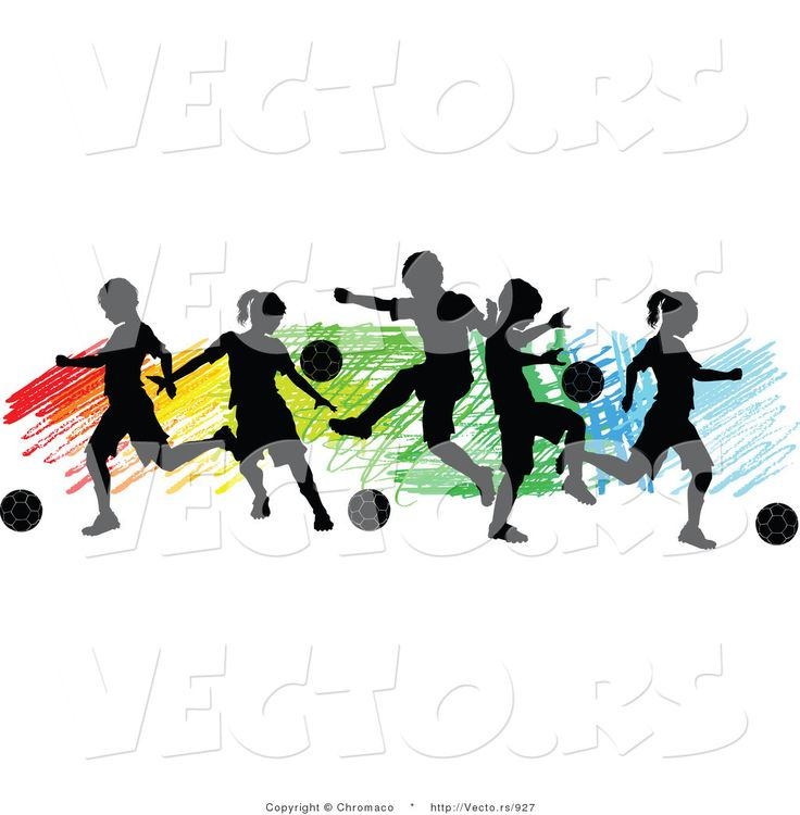 American Football Player Silhouette Vector Free