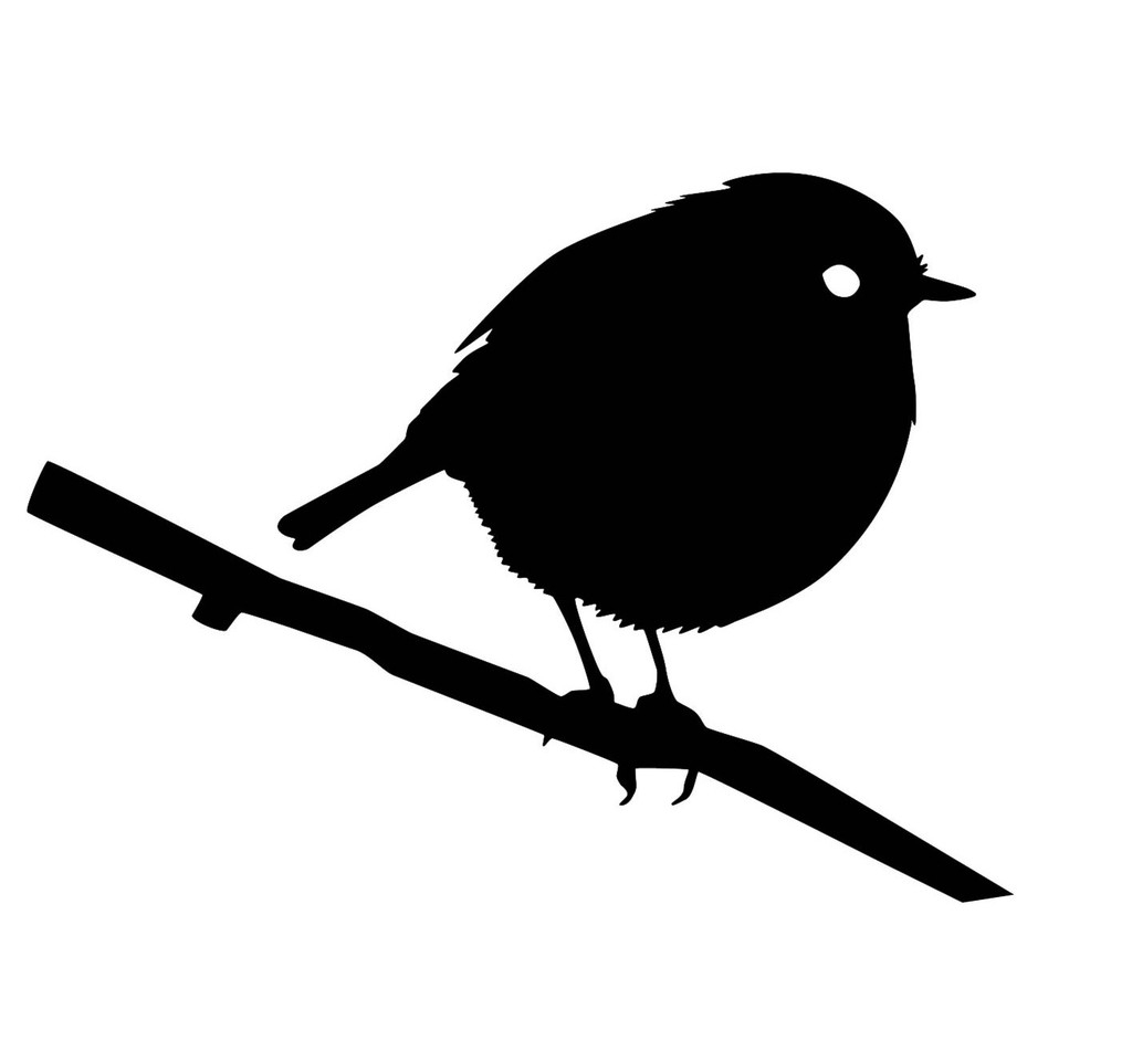 american robin silhouette at getdrawings com free for personal use