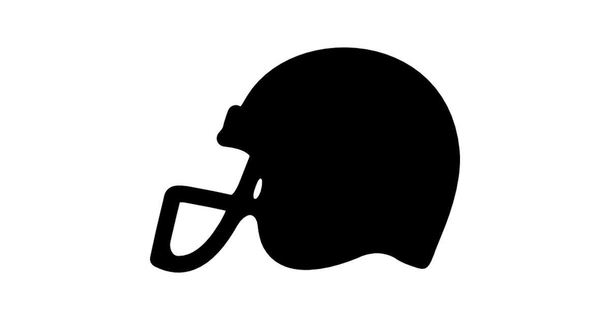 1200x630 Football Helmet Silhouette Clipart
