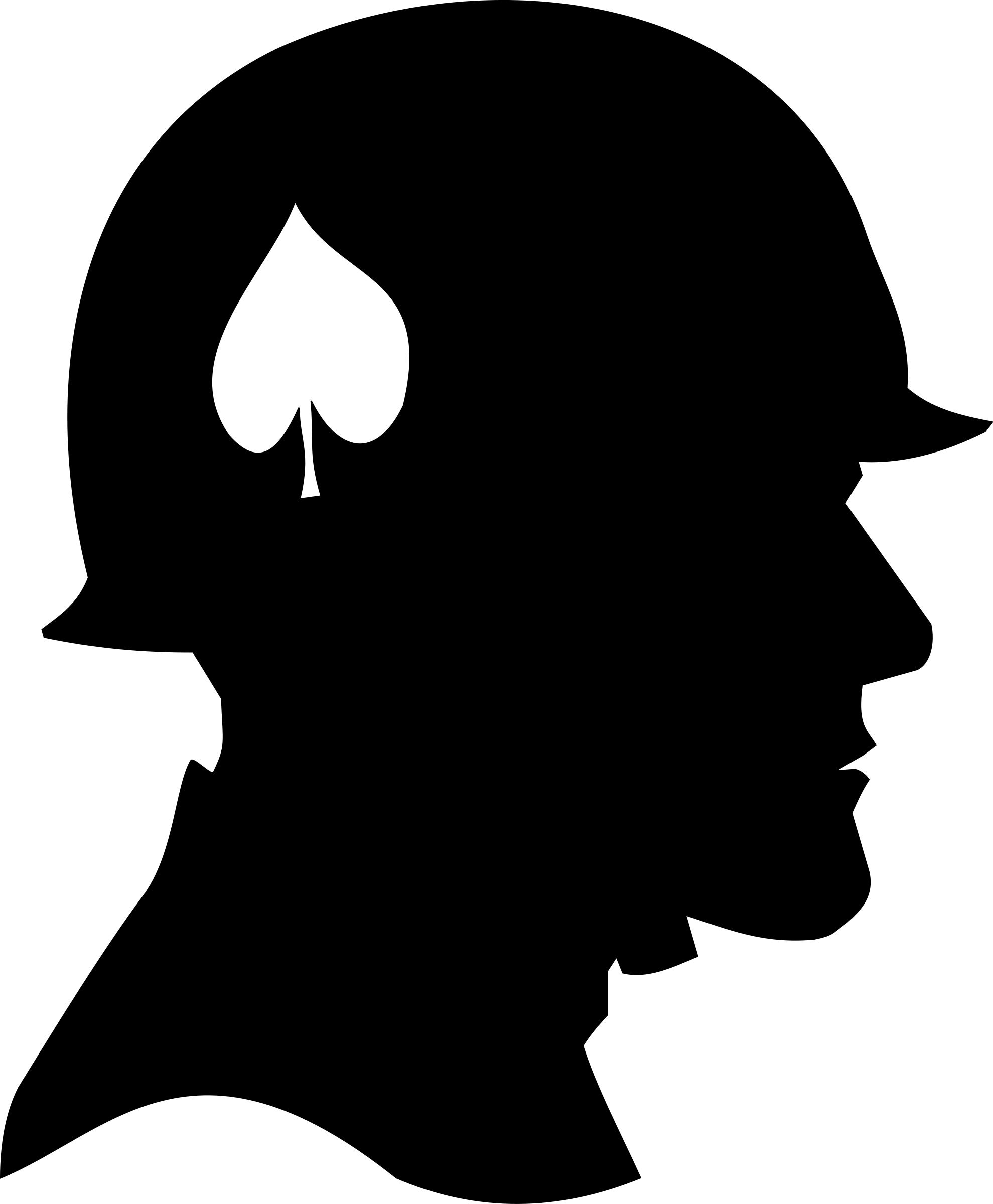 1979x2400 U.s. World War Two Soldier Silhouette Icons Png