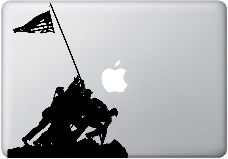 1500x1049 Silhouette Cutout Of American Marines Raising