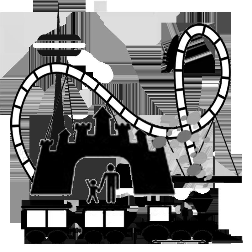 804x804 Amusement Park Clip Art