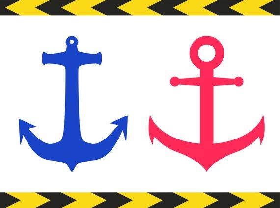 570x425 Nautical Svg Anchor Cricut Downloads Svg File Cut Files