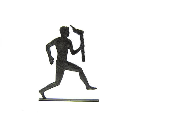 570x388 Bronze Sculpture Marathon Runner From Ancient Greece Greek