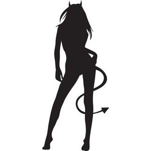 300x300 Devil Clipart Lady