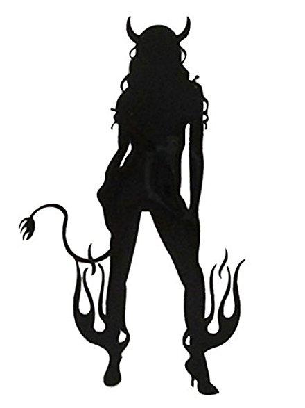 440x587 [Mika Amp Maya] Angel Devil Stickers Fashionable (Devil