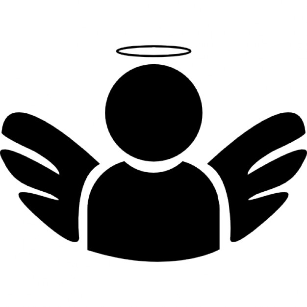 626x626 Angel With Wings And Halo Icons Free Download