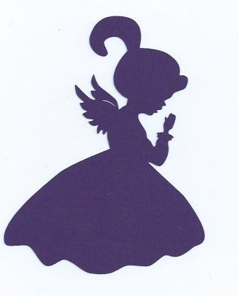 336x417 Little Girl Angel Silhouettes Little Girl Angel Praying