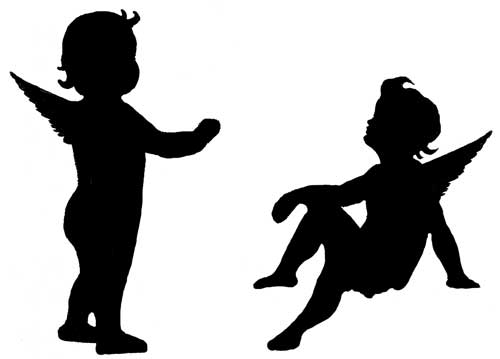 500x359 Silhouette Clipart Silhouettes, Cricut And Silhouette Pictures