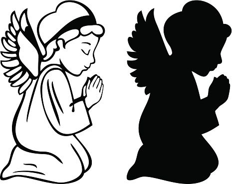 465x369 Praying Angel Vector Id513707461 Sagome