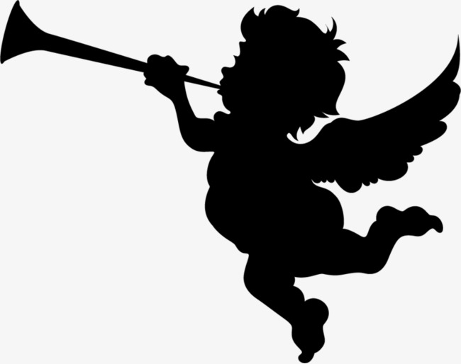 650x514 Angel Silhouette, Speaker, Angel, Shadow Png Image And Clipart