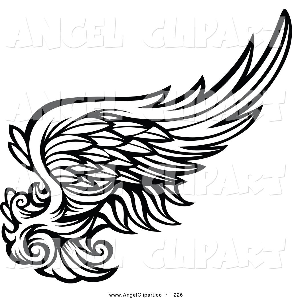 1024x1044 Wings Clipart Black Angel