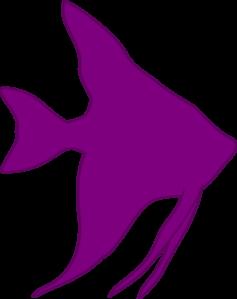237x299 Angelfish Silhouette Clip Art