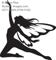 236x253 Angel Silhouette Clipart