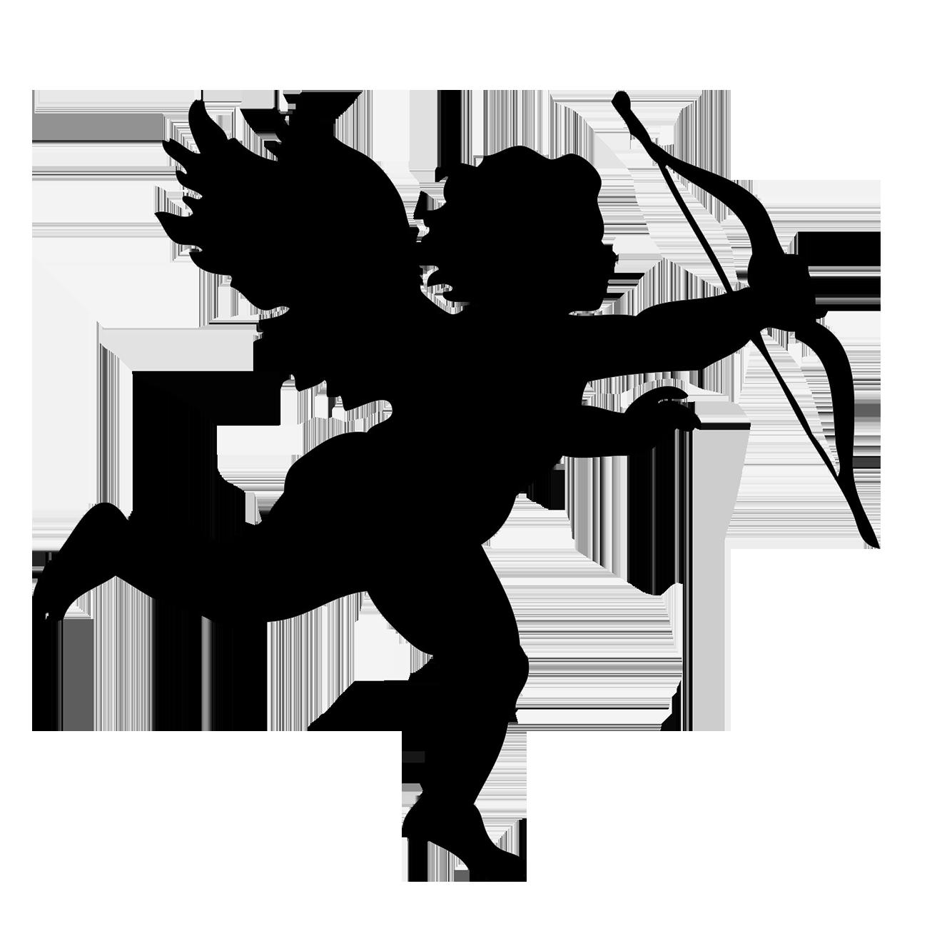 1299x1318 Angel Silhouettes