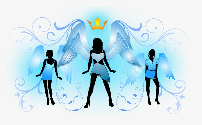 650x402 Vector Creative Posters Creative Music And Dance, Wing, Angel