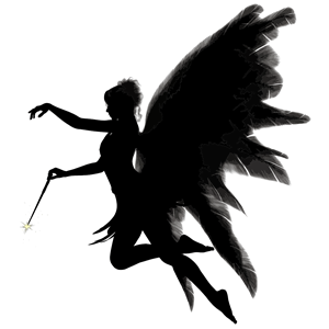300x300 Angel Silhouette Clipart, Cliparts Of Angel Silhouette Free
