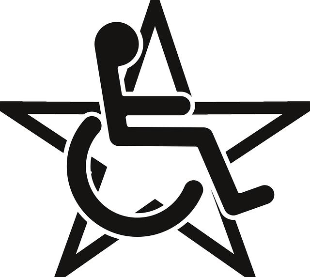 640x572 Rollstuhl Symbol