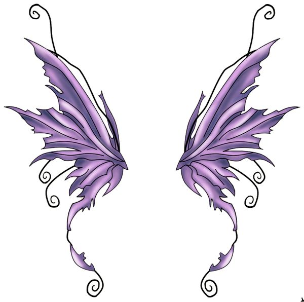 600x596 Fairy Wings Tattoos Ideas